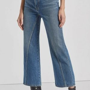 NWT CURRENT ELLIOTT CROPPED JEANS  SIZE 29